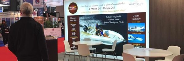 Stand DREAM YACHT - salon du Nautique 2018