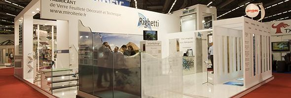 Stand SADEV RIGHETTI - Salon Batimat 2015