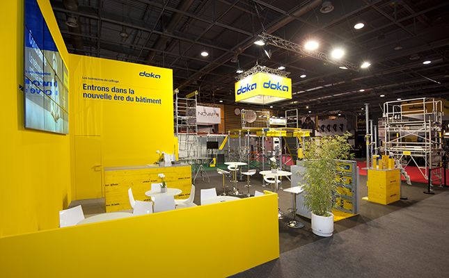 Stand DOKA - salon Batimat 2017
