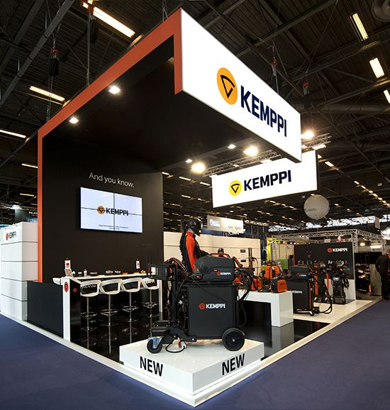 Stand KEMPPI - salon Industrie 2018