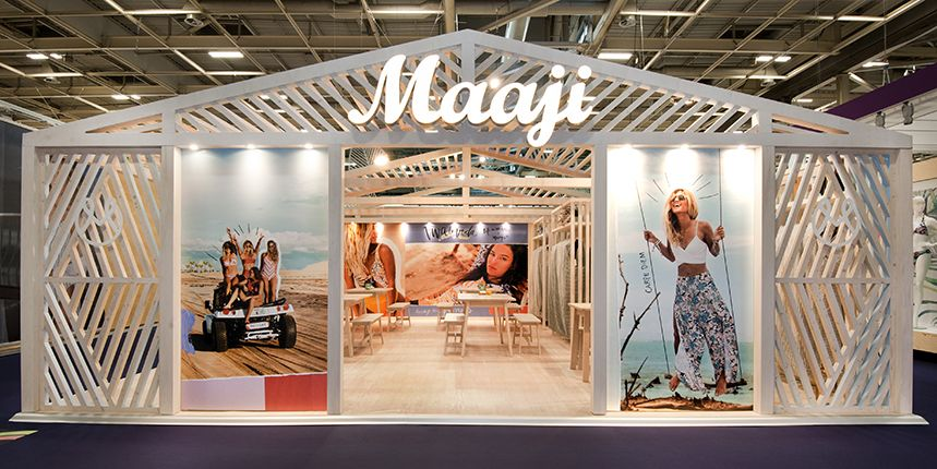 Stand MAAJI - salon Mode City 2018