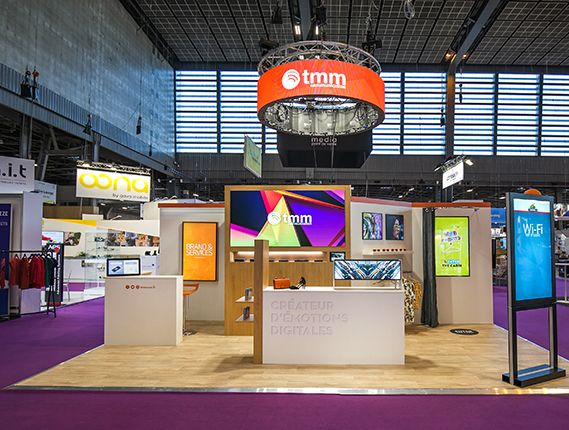 stand TMM - salon Paris Retail Week 2019