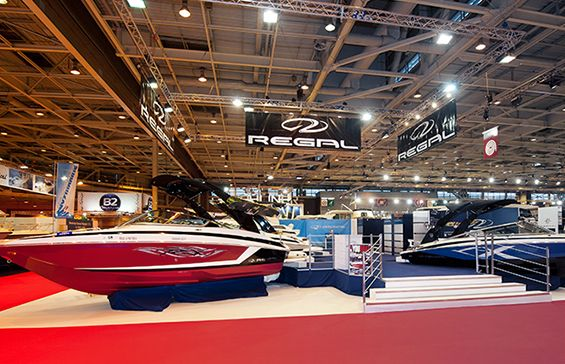 Stand REGAL - salon Nautique 2013